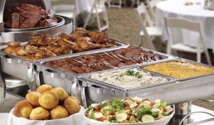 Cater buffet